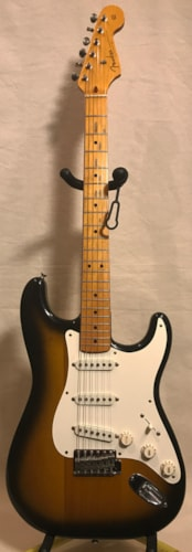 1984 Fender Stratocaster '57 Reissue 2-Tone Sunburst, Very Good, Original Hard