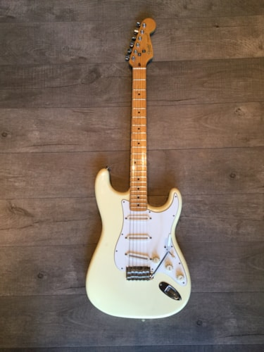 1984 Fender® Stratocaster® Olympic White, Good, Original Hard, $1,295.00