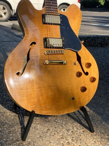1984 Gibson ES-335 DOT Blonde on hold for possible trade