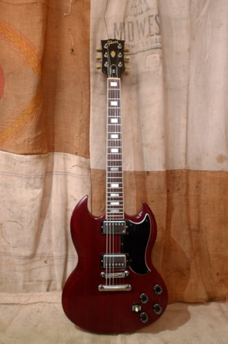 1984 Gibson SG STANDARD Cherry Red, Very Good, Original Hard, $1,650.00