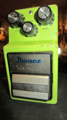 1984 Ibanez SD-9 Sonic Distortion Green, Excellent, $199.00