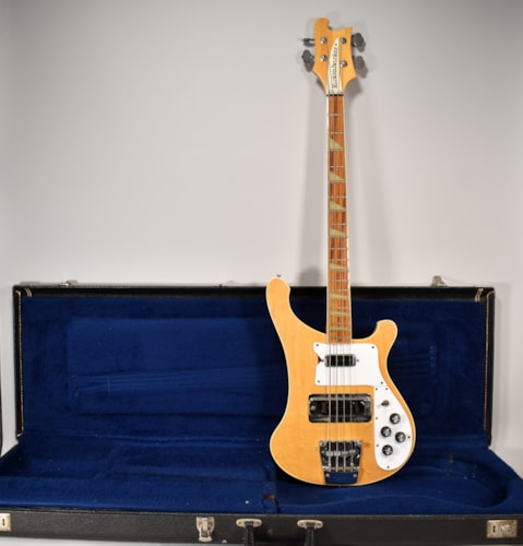 1984 Rickenbacker 4003 Bass MapleGlo Finish Electric Bass Guitar w/OHSC USA