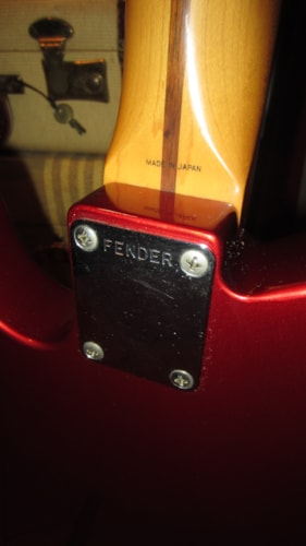 1985 Fender Telecaster Candy Apple Red