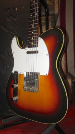 ~1985 Fender Telecaster Custom Lefty Left Handed