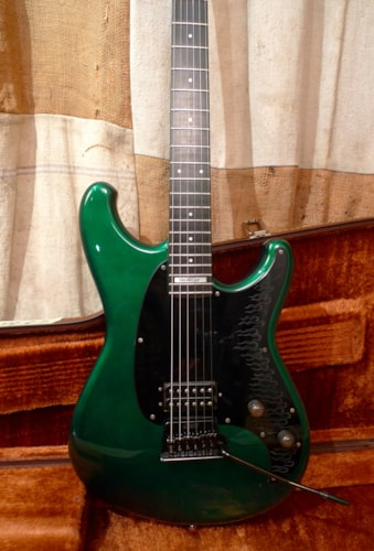 1985 Ibanez AH-10 Allen Holdsworth Green, Very Good, Original Hard, $1,350.00