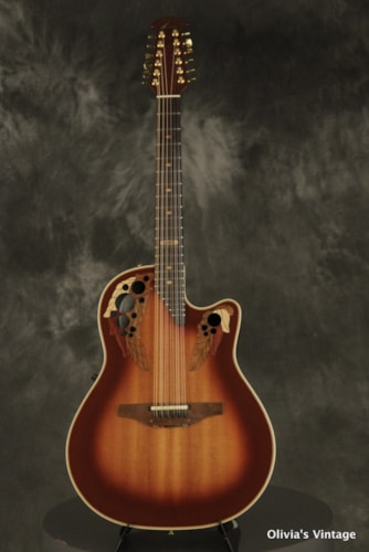 1985 Ovation Collector's Series 2985-1 Autumnburst 12-string with COA