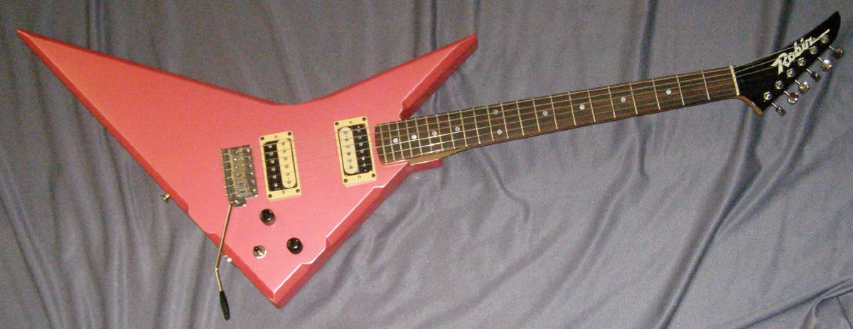 1985 Robin Wedge Electric Pink Pearl, Excellent, Hard