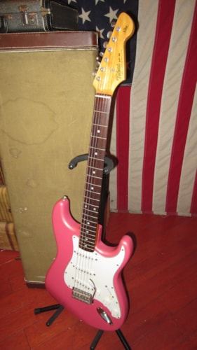 ~1985 Tokai AST-62 '62 Re-Issue Stratocaster Pink Sparkle