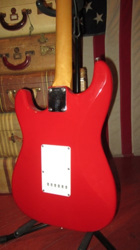 1985 Tokai AST-62 '62 Re-Issue Stratocaster (1962 Reissue) Red, Excellent, GigBag, $895.00