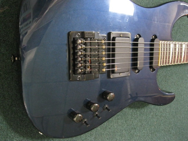 1986 Charvel Model 6 Midnight Blue, Excellent