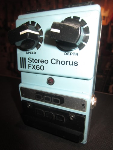 1986 DOD Stereo Chorus FX60 Blue, Excellent, $79.99