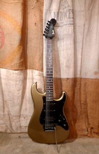 1986 Fender® Contemporary Stratocaster® Pewter Silver, Very Good, Hard, $875.00