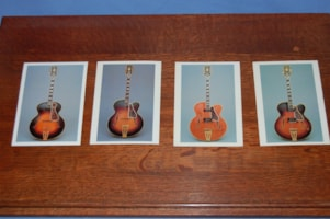 1986 Gibson Super 400 postcards