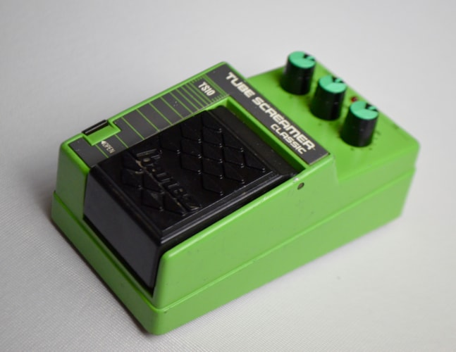1986 Ibanez TS10 Tube Screamer Green, Excellent, $350.00