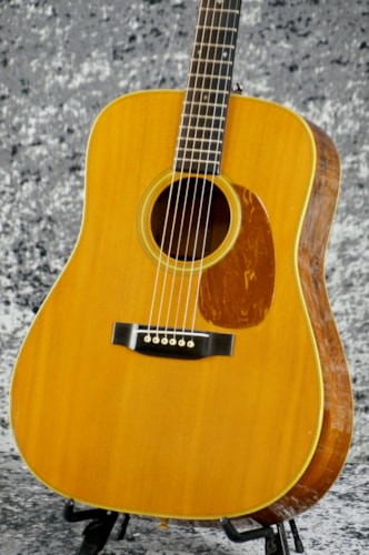1986 Martin D-28 BRAZIL Custom Natural, Excellent, Hard, Call For Price!