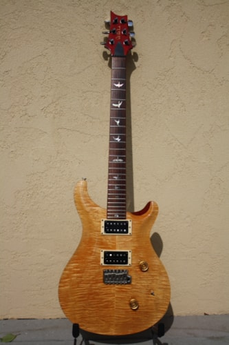 1986 PRS Custom 24 Vintage Yellow