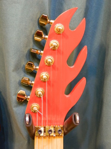 1987 Astro Flame Red, Very Good, Hard