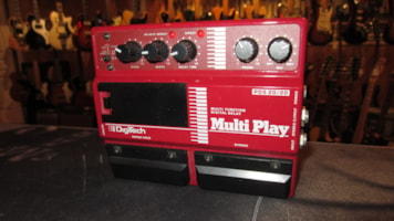1987 Digitech PDS 20/20 Multi Play Digital Delay Pedal