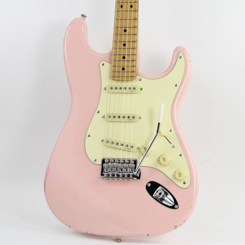 1987 Fender® Partscaster Strat® Shell Pink, Good, Hard, $699.00