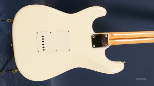 1987 Fender Squier Stratocaster Olympic White