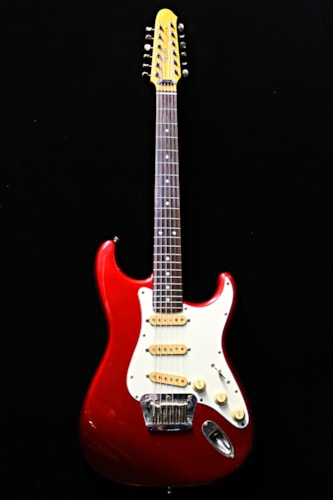 1987 Fender® Stratocaster® XII Candy Apple Red, Very Good, Hard, Call For Price!