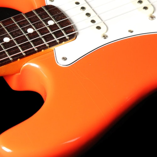 1987 Fender Used 1987 Fender American Vintage '62 Stratocaster Electric Guitar Fiesta Red Excellent, $2,599.00