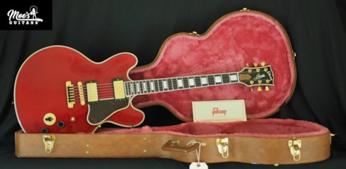 1987 Gibson Lucille ES-355 Cherry Red