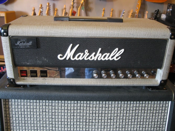 1987 Marshall 2553 Jubilee Short Box Head Silver, Very Good, $1,999.00