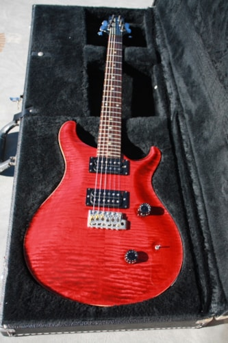 1987 Paul Reed Smith Custom 24 Black Cherry, Very Good, Hard