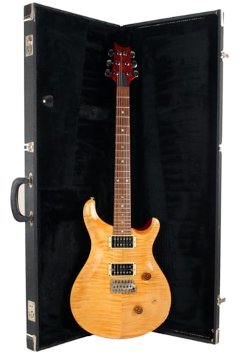 1987 PRS Custom Vintage Yellow, Very Good, Original Hard