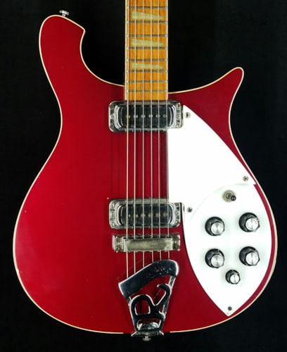 1987 Rickenbacker 620 Guitar Ruby Red Gt Guitars Electric
