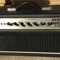 1988 Dumble Overdrive Special 100 Wat Head