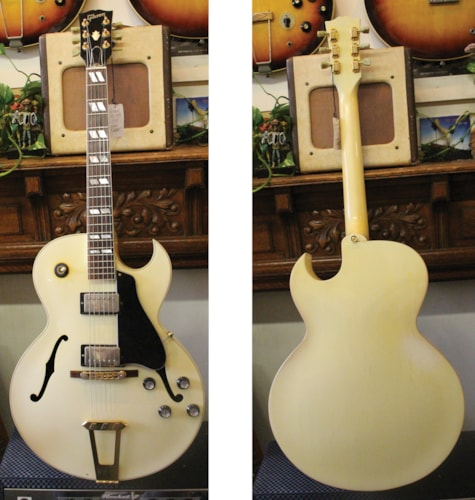 1988 Gibson  ES-175D  White, Very Good, Original Hard