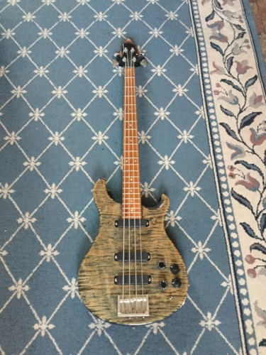 1988 Paul Reed Smith Bass Guitar Faded Whale Blue, Excellent