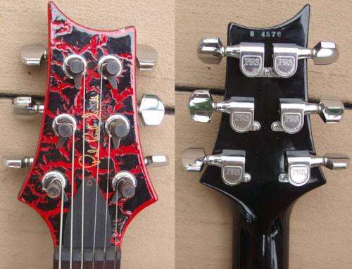 1988 PRS The Special Red Crackle, Near Mint, Original Hard