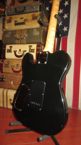 1988 Unkown Parts 3 Pickup Telecaster Copy Black Guitars Electric