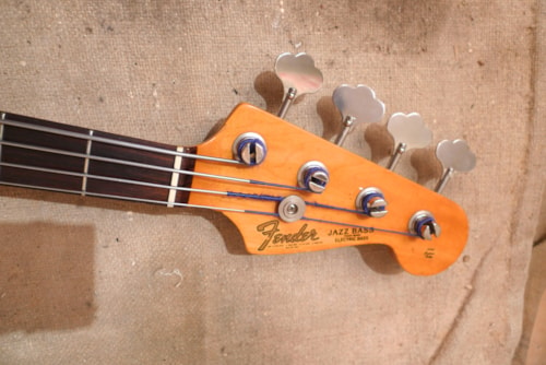1989 Fender Jazz Bass Stick Knob  (1960 reissue) Blond