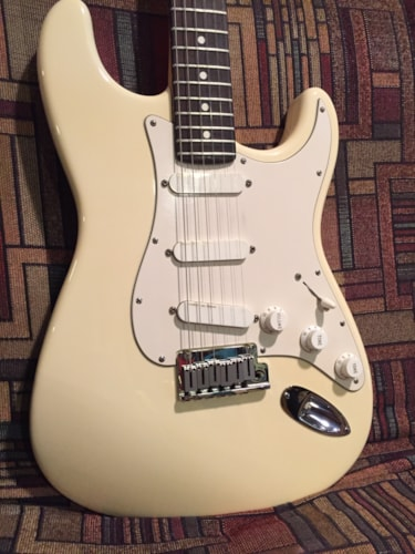 1989 Fender® Strat® Plus Olympic white, Excellent, Original Hard