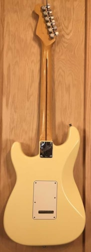 1989 Fender® Strat® Plus Olympic White, Excellent, Hard, $1,250.00