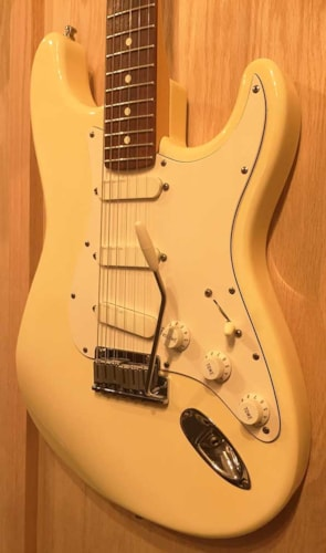 1989 Fender Strat Plus Olympic White Gt Guitars Electric