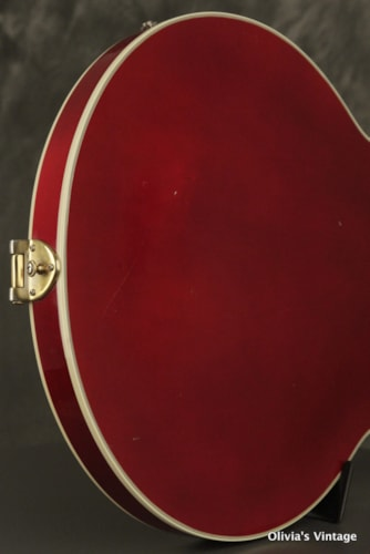 1989 Gibson Chet Atkins Country Gentleman Wine Red