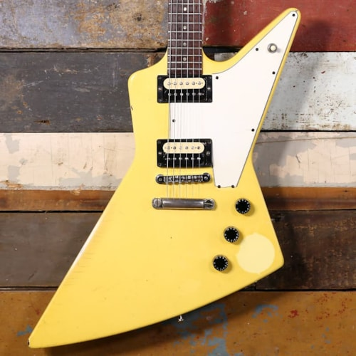 1984 Gibson Explorer P-90s Camouflage