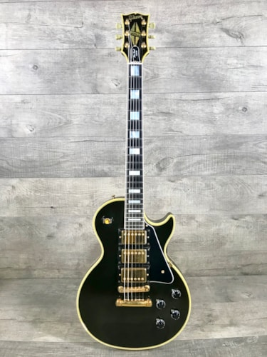 1989 Gibson Les Paul Custom 35th Anniversary Ebony, Excellent, Original Hard