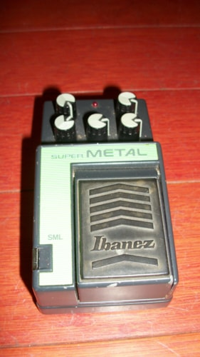 1989 Ibanez SML Super Metal Green, Excellent, $129.00