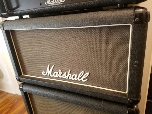 1989 Marshall Bass Amp Stack