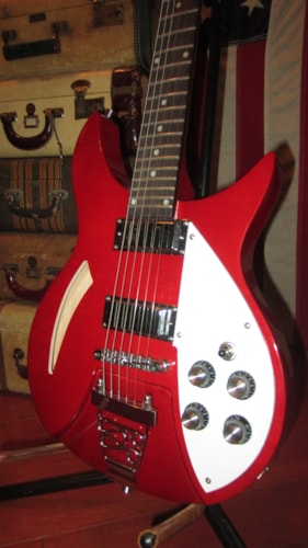 1989 Series 10 or Similar Ric Model 320 Copy w/ 2 Pickups Red, Excellent, $429.00