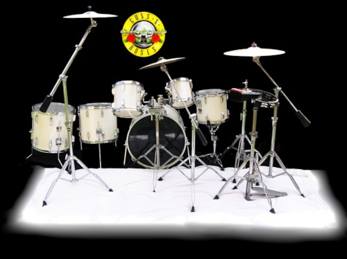 1989 Tama II Artstar Drum Set Wend and played by Steven Adler Guns and Roses