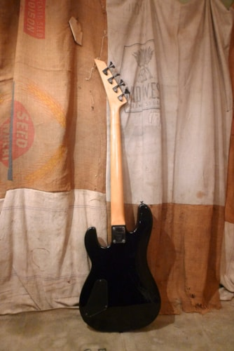1990 Charvel Bass Guitar Black, Very Good, GigBag, $325.00
