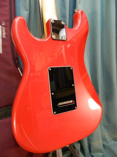 ~1990 Fender Contemporary Stratocaster HSS Metallic Red