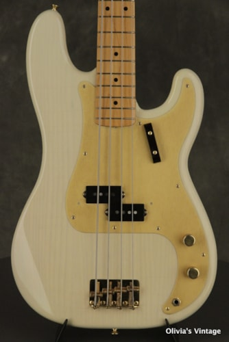 1990 Fender Precision Bass (1957 reissue) Blonde